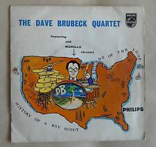 """Dave Brubeck Quartet History of a Boy Scout 7"""" EP Philips BBE 12188"""