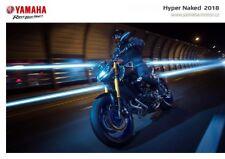 Yamaha Hyper Naked 2018 catalogue brochure Tcheque Czech