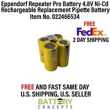 Repeater Pro Battery 4.8V Ni-Cd Pipette Replacement Battery