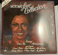 MOTOWN LOVE COLLECTION - VARIOUS ARTISTS - K-TEL RECORDS DOUBLE LP