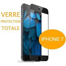 iPhone 7 VIDRIO TEMPLADO NEGRO Lámina protectora Integral Total pantalla 4.7