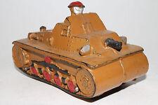 1940's Auburn Rubber Military Army Tank, Nice Original Lot #9