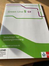 Green Line 5 G 9. Vorschläge zur Leistungsmessung