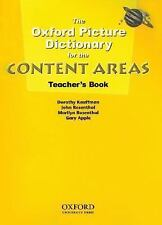 The Oxford Picture Dictionary for the Content Areas Teacher's Book, Gary Apple,