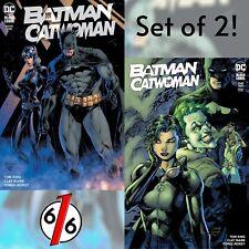 🚨🦇🔥 Batman Catwoman #1 & #2 Jim Lee Williams Set Of 2 Exclusive & #2 Cover B