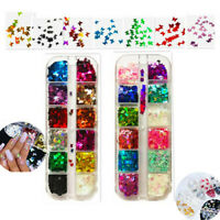 Fashion 3D Laser Butterfly Sequins Nail Art Flakes Glitter Foil Decoration