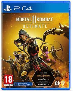 Mortal Kombat 11 Ultimate Edition PS4 en castellano Nuevo Precintado FISICO
