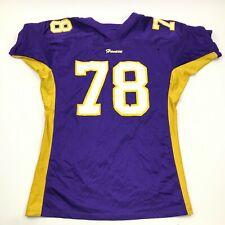 Vintage Havasu Maillot de Football Taille XL Violet Chemise Col V 90's USA