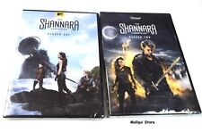 THE SHANNARA CHRONICLES THE COMPLETE SEASONS 1 and 2 (6 DVD discs) NEW
