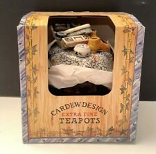 NEW - Vintage Cardew Design Extra Fine Teapot Brown Betty RISE & SHOE SHINE