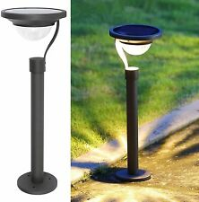 New listing 4 Pack 50 Lumens 42X Brighter Solar Path Lights Solar Garden Lights