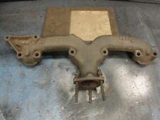 Chevy Small Block Center Dump Rams Horn Exhaust Manifold 283 302 327 350 400
