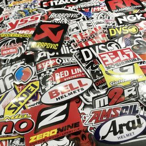 120Pcs Mixed Stickers Motocross Motorcycle Car ATV Racing Bike Helmet Decals Lot