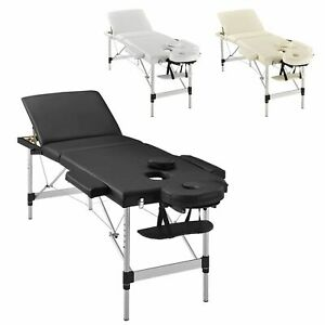 Massageliege Massagebank Massagetisch Therapieliege Aluminium 3 Zonen ArtSport®