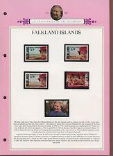 Falkland Islands 1992 QEII Accession MNH Set On Page #V349
