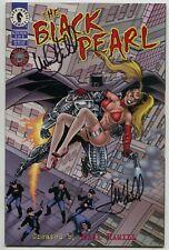 Black Pearl 3 Dark Horse 1996 VF Signed Mark Hamill Star Wars