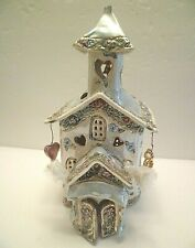 Large Incredible 'Blessings' Retired Rare Heather Goldminc Blue Sky Clayworks