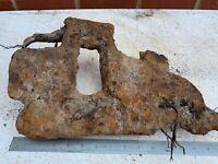 Battlefield Relic Original WW2 Russian KV Heavy Tank Track Link Half (Tree part)