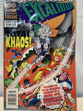 EXCALIBUR TOTAL KHAOS MARVEL COMICS 64 PAGE ANNUAL COMIC BOOK 1993