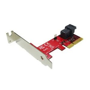 Lycom PCIe 3.0 x4 Host Adapter with miniSAS HD 36P for U.2 PCIe-NVMe SSD