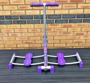 Leg Master Magic Compact Folding Exerciser. Home Exercise Machine Workout Purple