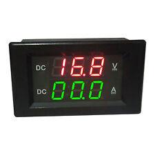 DC 0-600V/ 20A Shunt Ammeter Voltmeter Digital LED Amp Volt tester Meter 12V CAR
