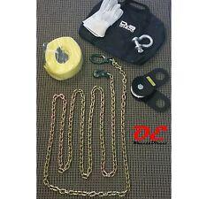 KO Off Road Jeep Wrangler Winch Accessory Kit Snatch Block Shackle D-ring 12K 9K