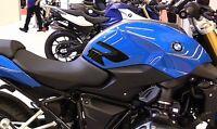 2 PROTEZIONI LATERALI SERBATOIO Stickers 3D compatibili MOTO BMW R1200R dal 2015