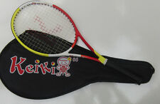 Keiki 65 mid-sized Junior High Performance tennis racket.