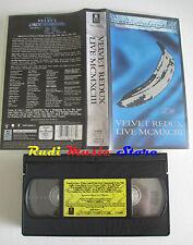 VHS THE VELVET UNDERGROUND redux live MCMXCIII 90 MINS WARNER cd mc dvd (VM6) *