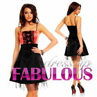 NEW SEXY WOMEN'S DRESS PARTY FORMAL COCKTAIL EVENING Size 2 4 6 8 10 XS S M