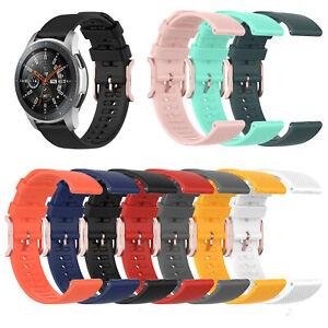 Silicone Watch Strap Wrist Band Belt for Samsung Galaxy Watch 3 41/45mm &Active2