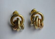 CHIMENTO 18K YELLOW GOLD EARRINGS   RARE