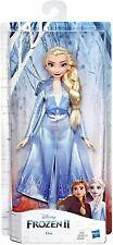 Disney Frozen 2 Elsa Fashion Doll Toy Blue Outfit Elsa - Brand New Damaged Box