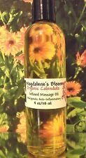 Organic Calendula Oil  Infused Un-Cut Premium Massage Bath Oil 4 oz