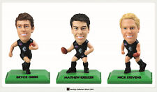 2009 SELECT AFL STARS COLOR FIGURINES TEAM SET (3)--CARLTON