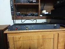 Biamp Stereo Limiter, Noise Gate, Vintage Rack (Serviced!)