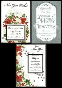 HAPPY NEW YEAR ~ Quality CARD ~ CHOICE of DESIGN