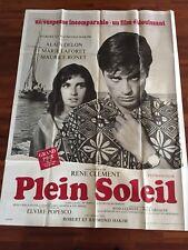 Affiche cinéma Movie Poster Plein Soleil Alain Delon 120x160