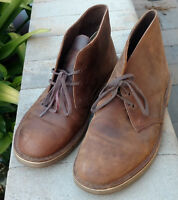 Clarks Originals Mens Bushacre 2 Chukka Boots Shoes Brown Leather 31435 Size 13M