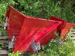 Traktor Heckcontainer Eigenbau