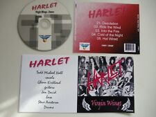 HARLET -Virgin Wings 1987 Queensryche/Rush/Leatherwolf/Toyko Blade Hard Rock CD