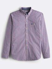 Joules Mens Rose Gingham Hewney Shirt Size Large
