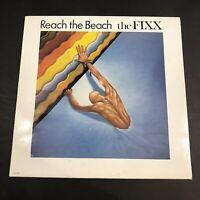 Vintage The Fixx- Reach The Beach' Mca 39001 Viny LP 1983 Album Record R7