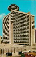 Atlanta Georgia~Regency Hotel~Parking Garage~1968 Postcard