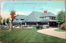 1914 Postcard: Country Club Golf Course - Omaha, Nebraska NE