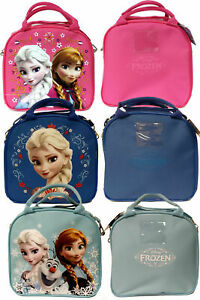 Disney Frozen Elsa Anna Insulated Lunch Box Bag Water Bottle Included 3 Color