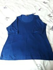 Ladies Navy Blue Plain Tshirt, Size 16, From Portfolio At M&S