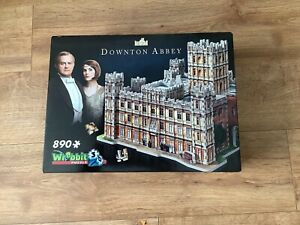 Wrebbit 3D Downton Abbey Jigsaw Puzzle With 890 Pieces