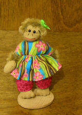 """Deb Canham Artist Designs Colado Monkey Coll 3.75"""" Mohair New From Retail Store"""